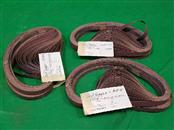 "3M 241E Brown Sanding Belt - Cloth Backing 1/2"" x 24"" - 320 Grit - 26713"